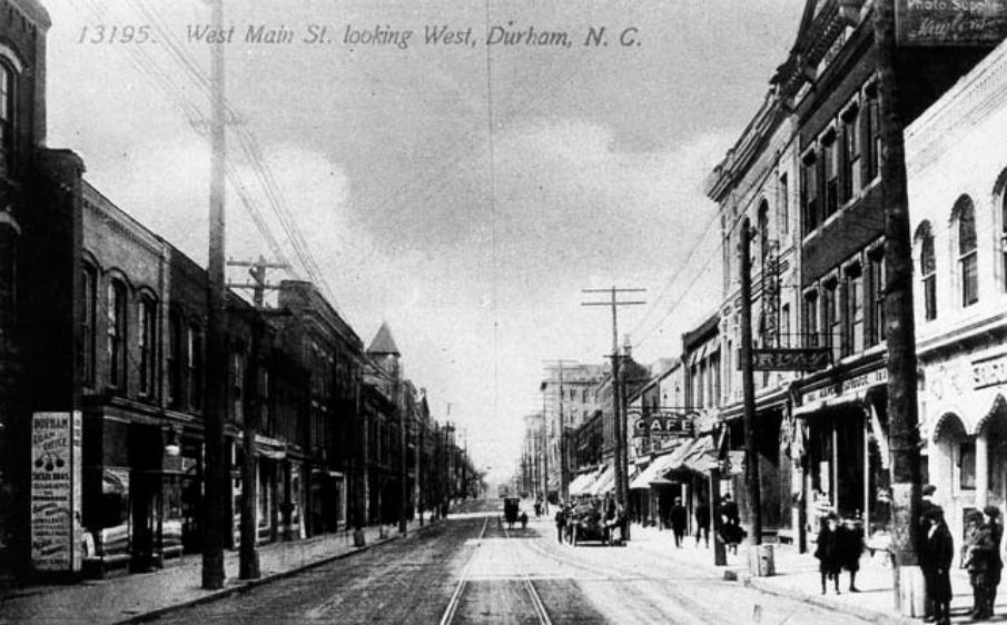 West Main St. Durham